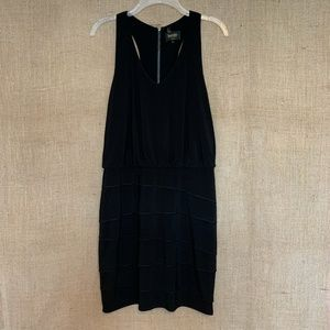 Laundry By Shelli Segal Black Dress Fitted Layer 6